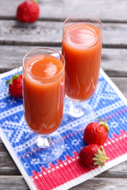 jordbær juice 1