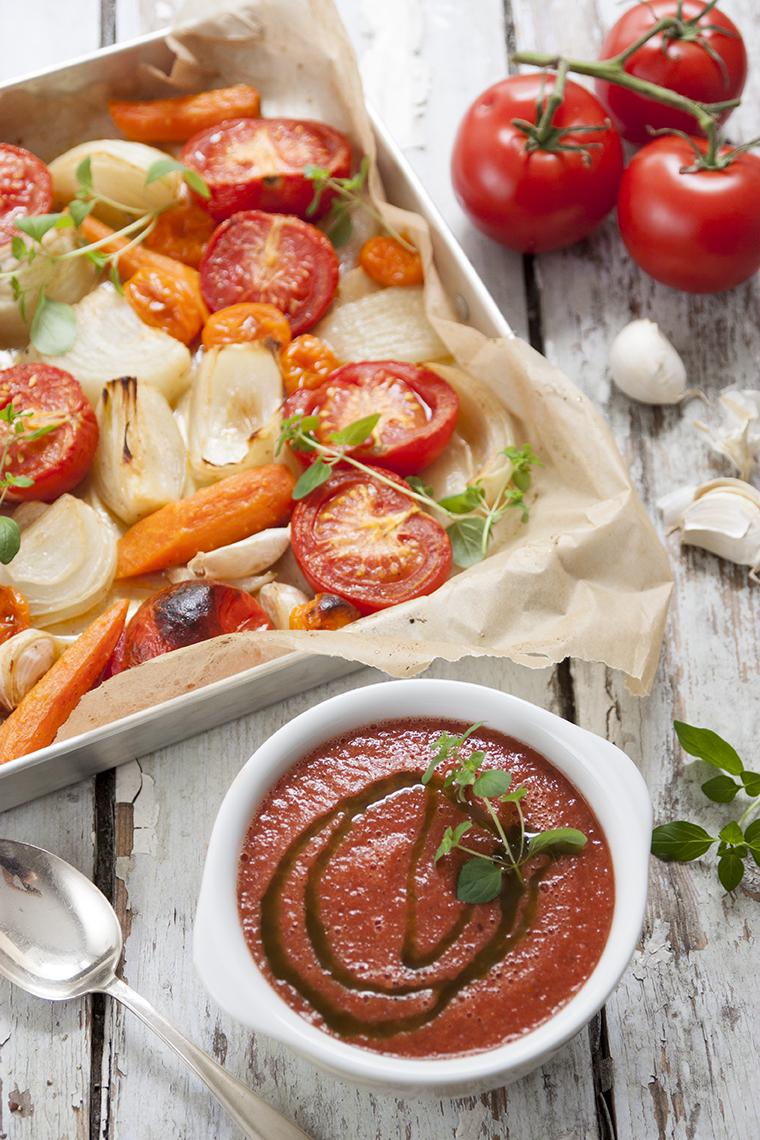 Ovnsbakt tomatsuppe 5351